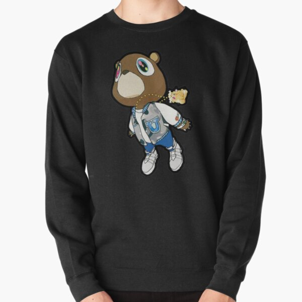 Graduation Bear Gift For Fans, For Men and Women, Family Day, Halloween Day, Thanksgiving, Christmas Day Pullover Sweatshirt