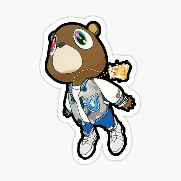 Graduation Bear Gift For Fans, For Men and Women, Family Day, Halloween Day, Thanksgiving, Christmas Day Sticker