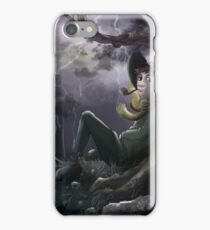 Snufkin chilling with Hattifatteners iPhone Case/Skin