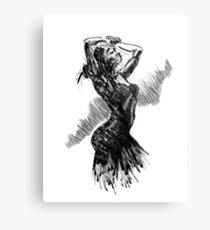 """""""Dancer"""" Metal Print"""
