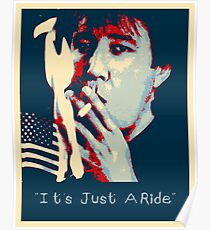Bill Hicks - It's Just A Ride Poster