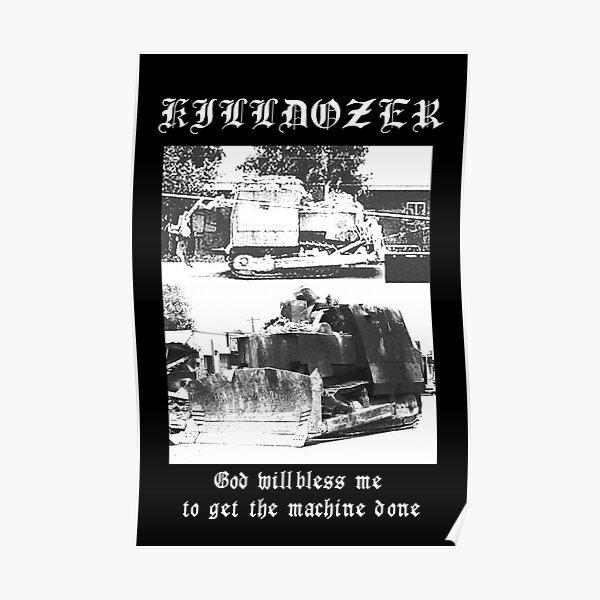 KILLDOZER / Alternate # 1 Poster