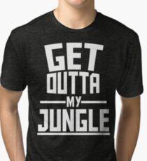 Get Outta My Jungle v2 Tri-blend T-Shirt