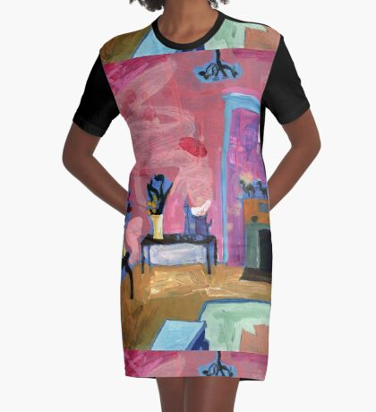 My Friend's Bordello 3 Graphic T-Shirt Dress