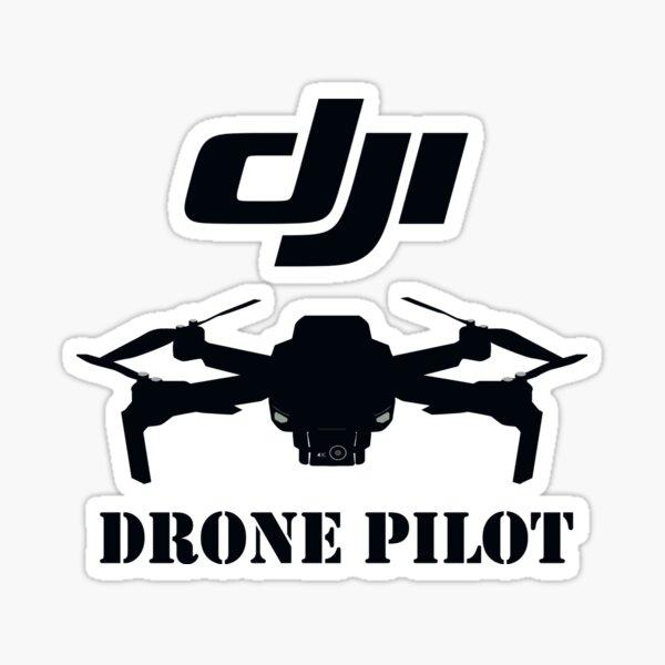 DJI Drone Pilot Essential T-Shirt Sticker
