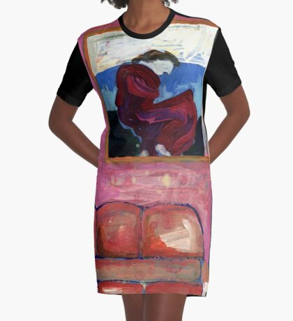 My Friend's Bordello 9 Graphic T-Shirt Dress