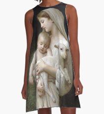 Innocence by William Bouguereau A-Line Dress