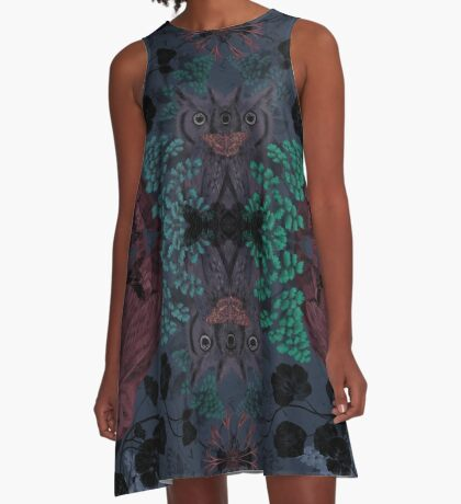 Night Vision A-Line Dress