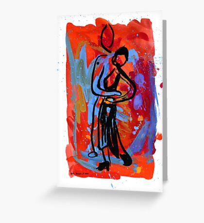 Tango 3 Greeting Card