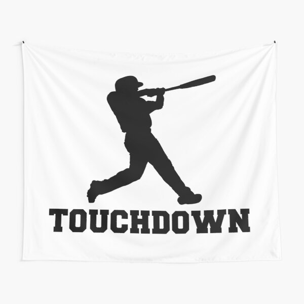 Touchdown Baseball Tapestry