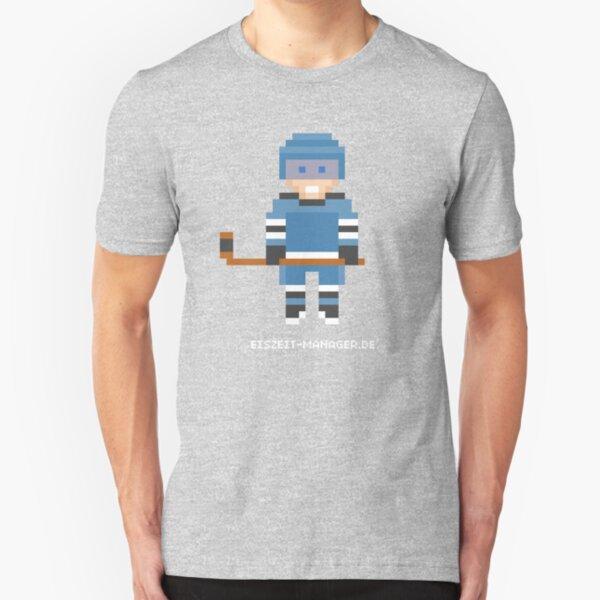 Eiszeit Manager - Spieler Style Slim Fit T-Shirt