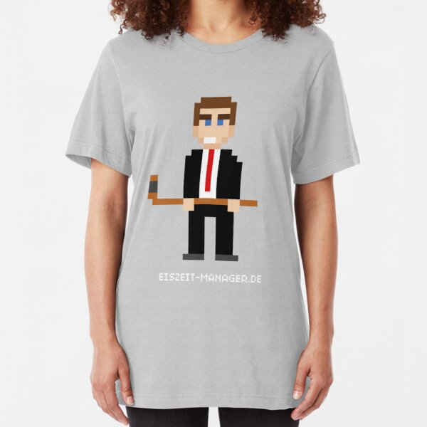 Eiszeit Manager - Manager Style Slim Fit T-Shirt