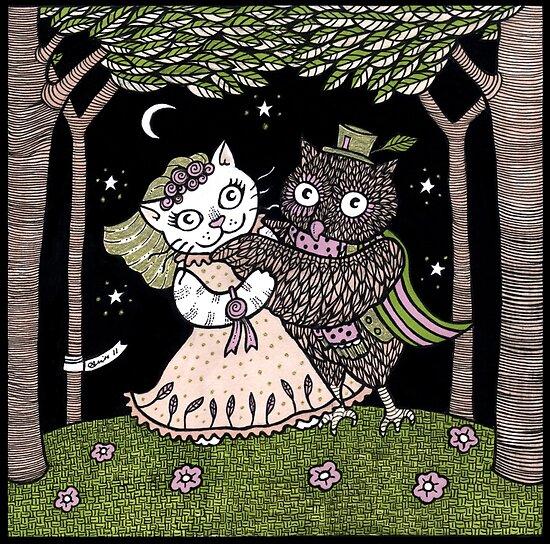 Owl & The Pussycat Waltz by Anita Inverarity