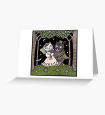 Owl & The Pussycat Waltz Greeting Card
