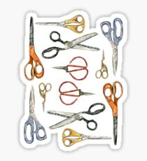 Scissors Collection Sticker