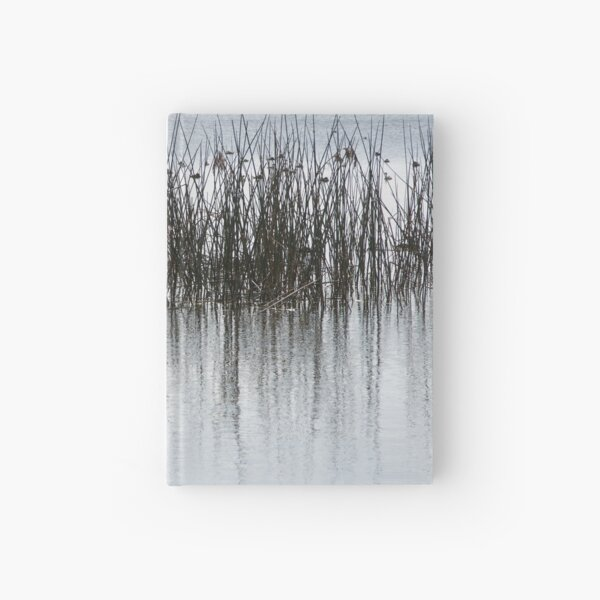 Birds on the lake Hardcover Journal