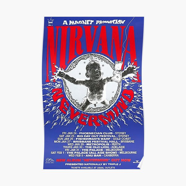 Flying Baby Tour Poster