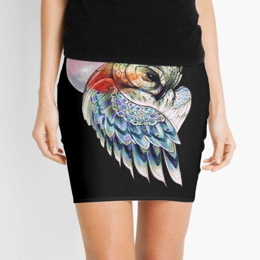 Owl and Darkness Mini Skirt