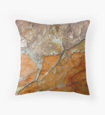 hot slate Throw Pillow