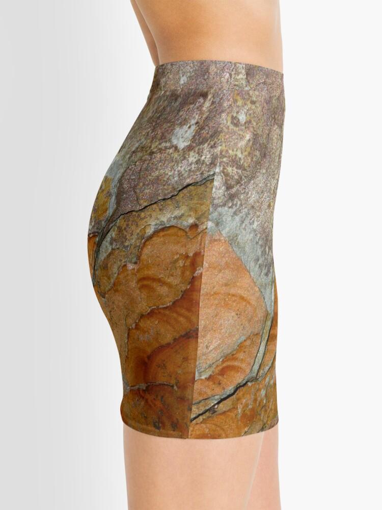 Alternate view of hot slate Mini Skirt