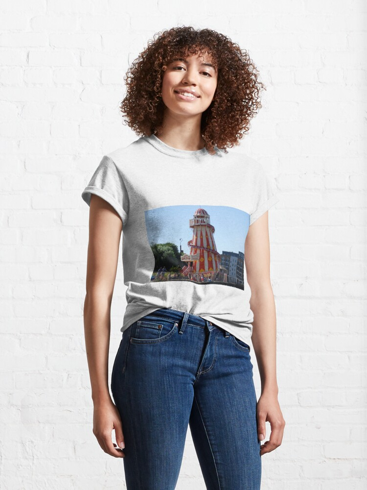 Alternate view of Helter Skelter near Greenwich Classic T-Shirt