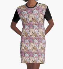 UTENSIL FREAKS Graphic T-Shirt Dress