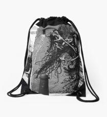 el arte de la calle Drawstring Bag