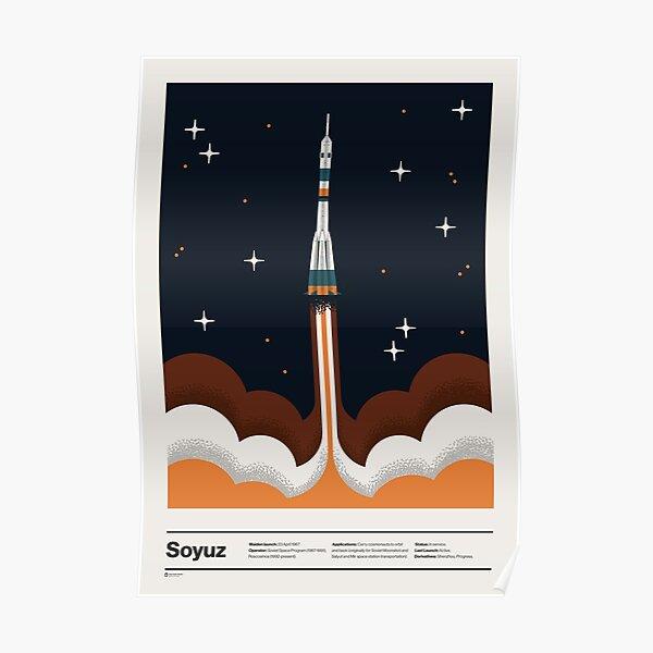 Legendary Spacecraft Poster
