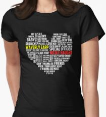 Wayhaught quotes - best of ; Women's Fitted T-Shirt