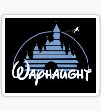 WayHaught - DlSNEY Version.  Sticker