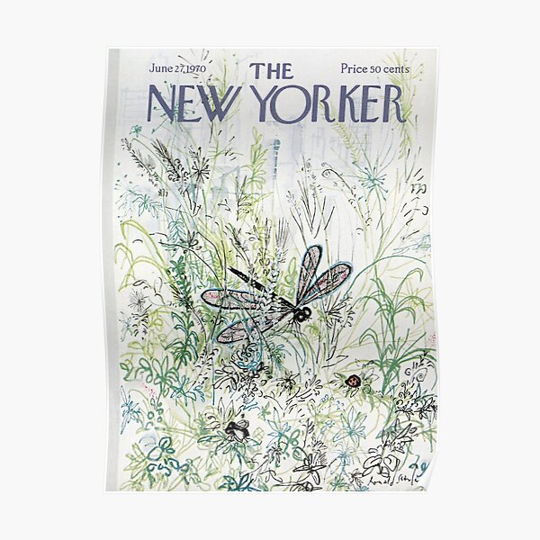 The New Yorker vintage cover Poster