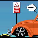 Speed bumps! (orange) by MrDeath