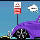 Speed bumps! (purple) by MrDeath