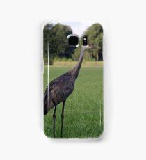 Sandhill Crane Samsung Galaxy Case/Skin