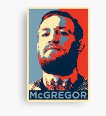 Conor McGregor Face Canvas Print