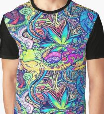 Psychedelic Slug  Graphic T-Shirt