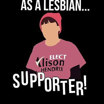 As a lesbian...supporter!  by dolphinvera