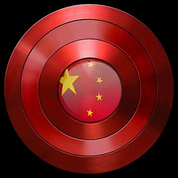 CAPTAIN CHINA - Captain America inspired Chinese shield by infrablue