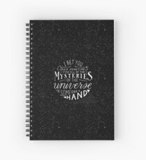 All of the Mysteries of the Universe Spiral Notebook