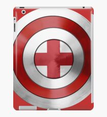 CAPTAIN ENGLAND - Captain America inspired English shield iPad Case/Skin