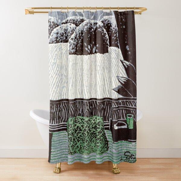 Kasamatsu Shirō | Shisendo Temple Garden |  Shower Curtain