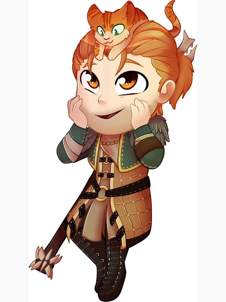 Anders chibi by CrispyCh0colate