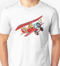 Cartoon biplane T-Shirt