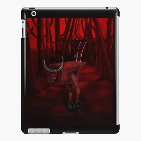 Red Bull in the red forest iPad Snap Case