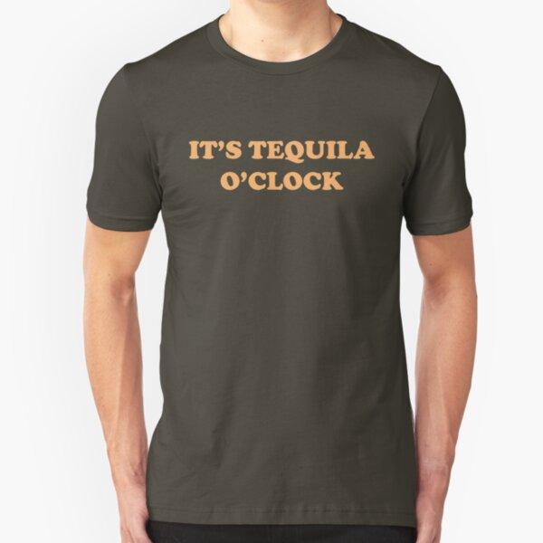 It's Tequila O'Clock Slim Fit T-Shirt