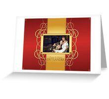 Jamie & Claire-Elegant frame Greeting Card