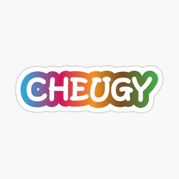 Cheugy Sticker