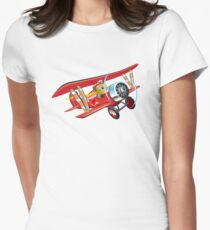 Cartoon biplane T-Shirt