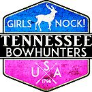 TENNESSEE BOWHUNTER GIRLS NOCK BOW HUNTER DEER HUNTING TROPHY WOMENS by MyHandmadeSigns
