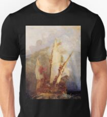 Ulysses Deriding Polyphemus (1829) by JMW Turner Unisex T-Shirt